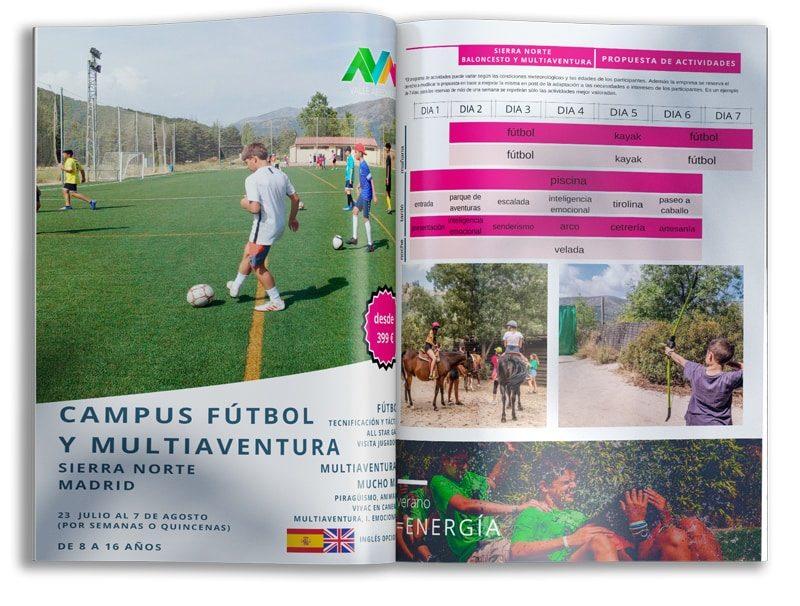 campamentos de verano fútbol